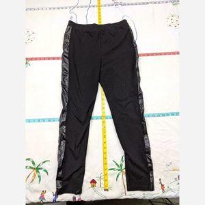 Women's Size Large Mix&Co Yoga Pants Leggings w/ F